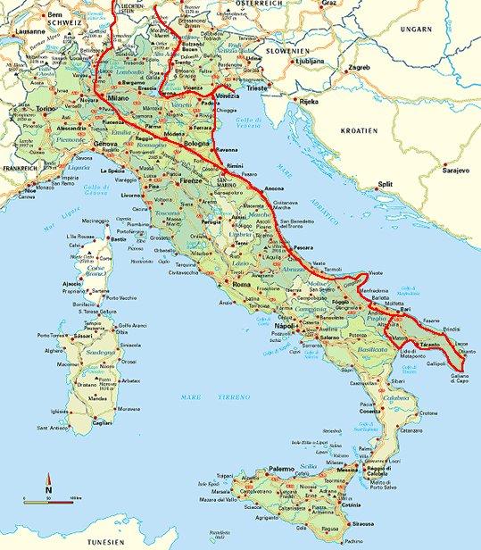 italien karte adria Homepage italien karte adria